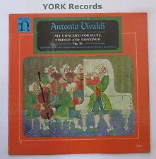 H-1042 - VIVALDI - Six Concerti For Flute, Strings & Continuo - Ex Con LP Record