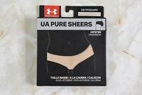 Women's Under Armour Pure Sheers Hipster Underwear Size XS