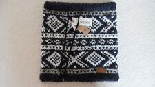 Barts mens or womans knitted snood loop scarf BNWT