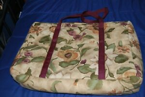 Hug Me Company Large Zippered Project Bag/Tote   NWOT