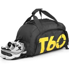 Travel Sport Gym Bag Fitness Waterproof Space Shoes Pouch Rucksack Backpack Gym