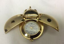 Collectible Lya lady bug pendant watch,very little signs of use,runs       L1014