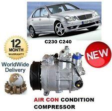 Per MERCEDES C230 C240 W203 5/2000 -2007 NUOVO aria con compressore CONDIZIONAMENTO