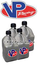 VP Racing 4-Pack Silver Fuel Jugs Diesel Pulling Truck Drag Racing Water Can ATV