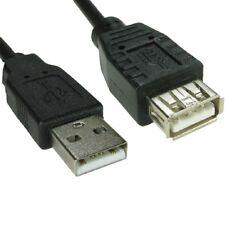 25 cm Corto USB 2.0 cavo di estensione Piombo un maschio ad un 0.25 M SCHERMATO Donna