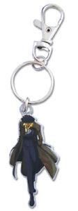 **Legit** Cowboy Bebop Authentic Anime Metal Keychain Spike Spiegel #85311