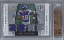2007 Adrian Peterson UD Ultimate Collection Silver RC- BGS 9.5 Gem Mint w/10 sub
