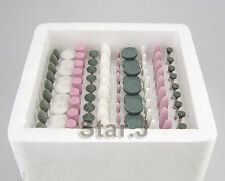 100PCS Assorted Dental Gravel thick Mounted Point Burs Polisher 2.35mm