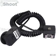 I-TTL Off-Camera Shoe Cord Cable for Nikon SC-28 SC-29 Flash SB910 SB900 SB400