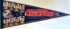 "New England Patriots SB XXXVIII Champions Players Collectors Pennant 12"" x 30"""