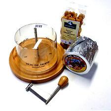 Cortadora de queso en toda Pan Tete de Moine Campana suiza Blaetterteigstaengli