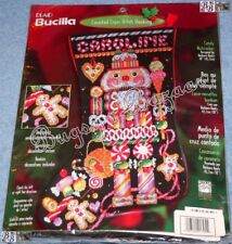 Bucilla CANDY NUTCRACKER Stocking Christmas Counted Cross Stitch Kit - L/R 84640