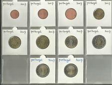 PORTUGAL 2007 !!! - COMPLETE SERIE - 1 cent t/m 2 euro !!! - plus 2x € 2,= extra