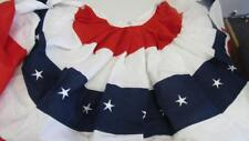 4th July Memorial Day Patriotic Bunting Red/White/Blue Stars & Stripes 72 x 36