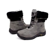 Ugg Womens Adirondack II Charcoal Color Snow Boots Size 6 US
