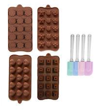 5er Set Silikon Backformen Pralinenform Backform Schokolade Pralinen Eiswürfel