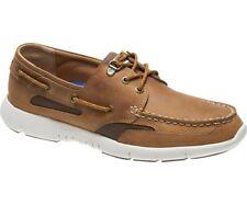 Sebago Clovehitch Lite Men's Deck Shoe B130221 Tan Leather NEW