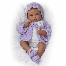 Ashton Drake TIANA GOES TO GRANDMAS Baby Girl Doll By Linda Murray