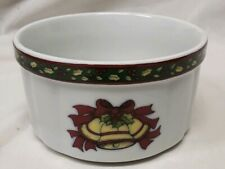 "Portmeirion Studio 5"" A Christmas Story Serving Bowl by Susan Winget Bells"