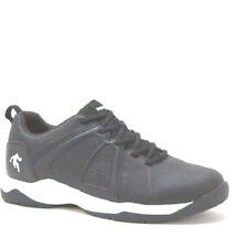 Shoes athletic mens size 7.5M EUR 40 AND1 black pad insole man made materials