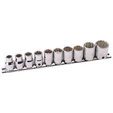 "Draper Expert® Hi-Torq® 10 Piece 3/8"" drive 12 Point Socket Set 8 - 19mm 19070"