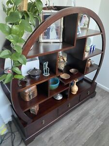 Solid round Display Unit / Book Case