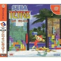 DC Sega Tetris Dreamcast Japan Japanese Import