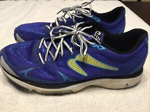 Preowned Men's Newton Fate Blue Running Shoes Size 11.5 (US) Originally $120