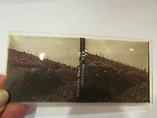 plaque verre stereo photo guerre 1914 18 militaire reischaker tranchee soldats 6