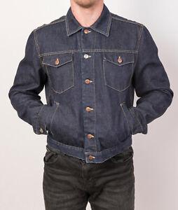 RICHMOND DENIM Men's Jacket Size 50 Denim Made In Italy