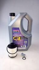 SERVICE KIT VAUXHALL INSIGNIA 2.0 CDTi ENGINE OIL FILTER + 5 LTR 5W30 LONGLIFE