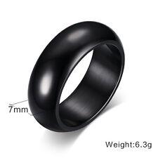 Classic Simple Fashion Size 6-13 Titanium Steel Women's Men's Wedding Party Ring
