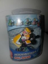 Super Mario Bros Kart 8 Luigi Pricess Yoshi Pull Back Racer Car Kids Toys TOMY