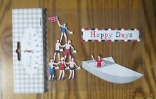 Meri Meri Accents Stickers-scrapbooking 2 Boat Fishing Happy Days Handyman