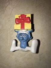 McDonalds 2011 Smurfs Movie Jokey Smurf Happy meal Toy #9 (1)!
