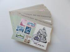Vatican Pavilion New York World's Fair 1964-65. 64 x Official Souvenir Sheets.