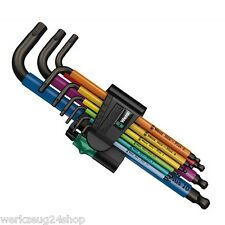 Wera Winkelschlüssel-Satz 950 SPKL 9-teilig 05 073593 001  Multicolour Inbus