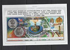 Cook islands 1988 Olympic Winners, Steffi graf, MS UM SG MS1207