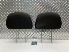 2005-2012 FORD ESCAPE TRIBUTE FRONT SEAT HEADREST SET HEAD RESTS BLACK CLOTH OEM