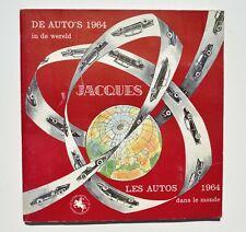 Chocolat Jacques - Les AUTOS 1964 dans le monde - Album chromos complet