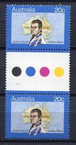 40630) AUSTRALIA 1980 MNH** Australia Day 1v gutter pair