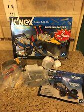 K'Nex Dueling Racers (12318) Playset Race Cars *Look*