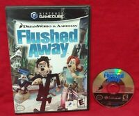 Flushed Away Dreamworks Disney  Nintendo GameCube Tested / Working Game