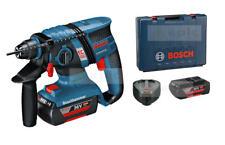 BOSCH 36v Brushless SDS Combi Hammer Drill 2 x 2.0Ah Li-ion Battery Kit GBH36VEC