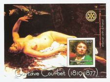 Gustave Courbet Paintings Sheet MNH