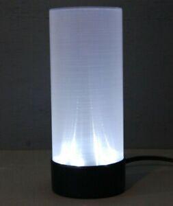 "Beamy's 7"" LED Lamp in Silver SF-72 Kishima Inc"