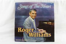 Songs of the Heart Roger Williams SMI 1-71 Vintage Vinyl Record 1985 LP