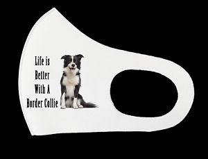 Adult Face Mask - Life is Better With Dogs (II) - Personalized Washable Reusable
