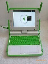 One Laptop Per Child, vintage computer, OLPC w/ charger