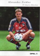 Autogramm - Alexander Zickler (Bayern München) - 2000/2001